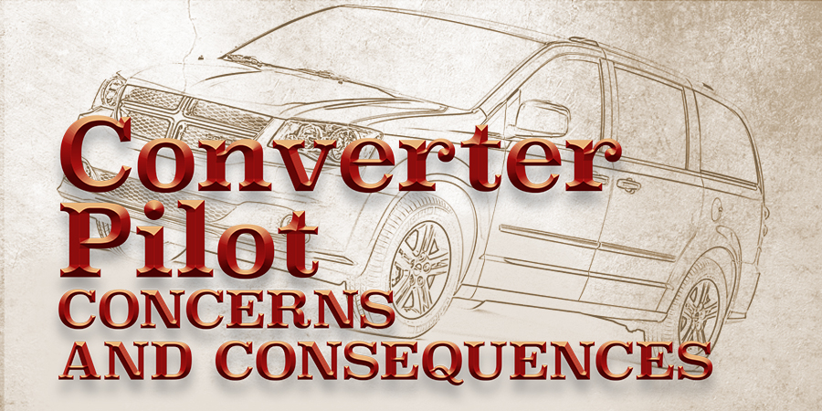 Gears Magazine | Converter Pilot Concerns and Consequences