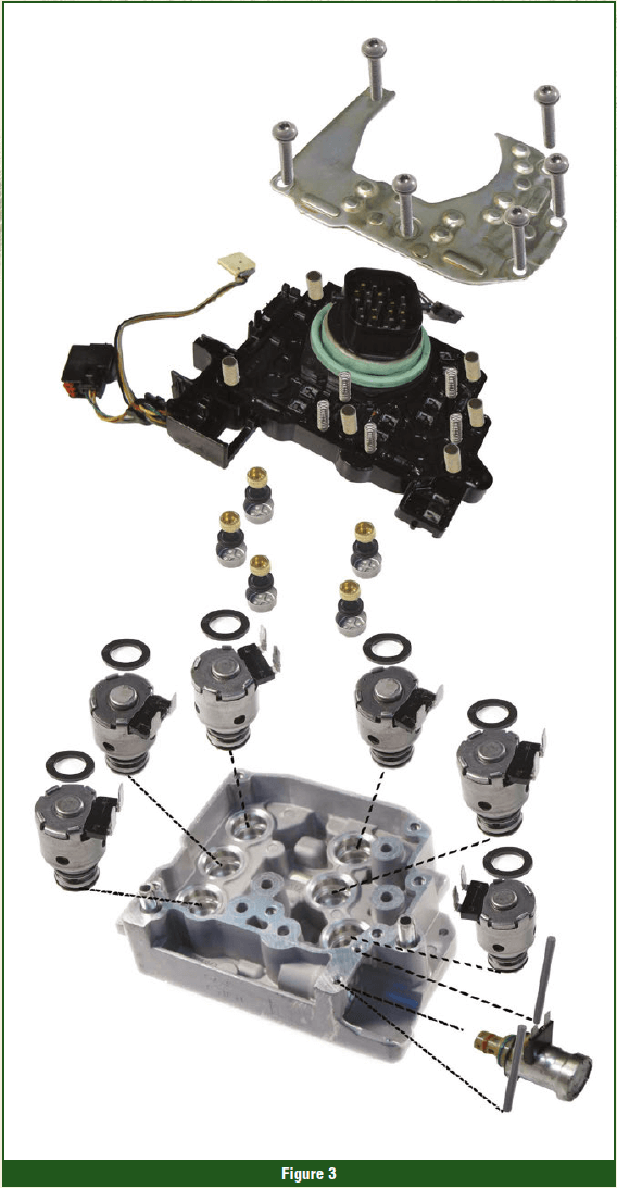 Gears Magazine   Saving Some Dollars: Rebuilding 62TE Solenoid Packs