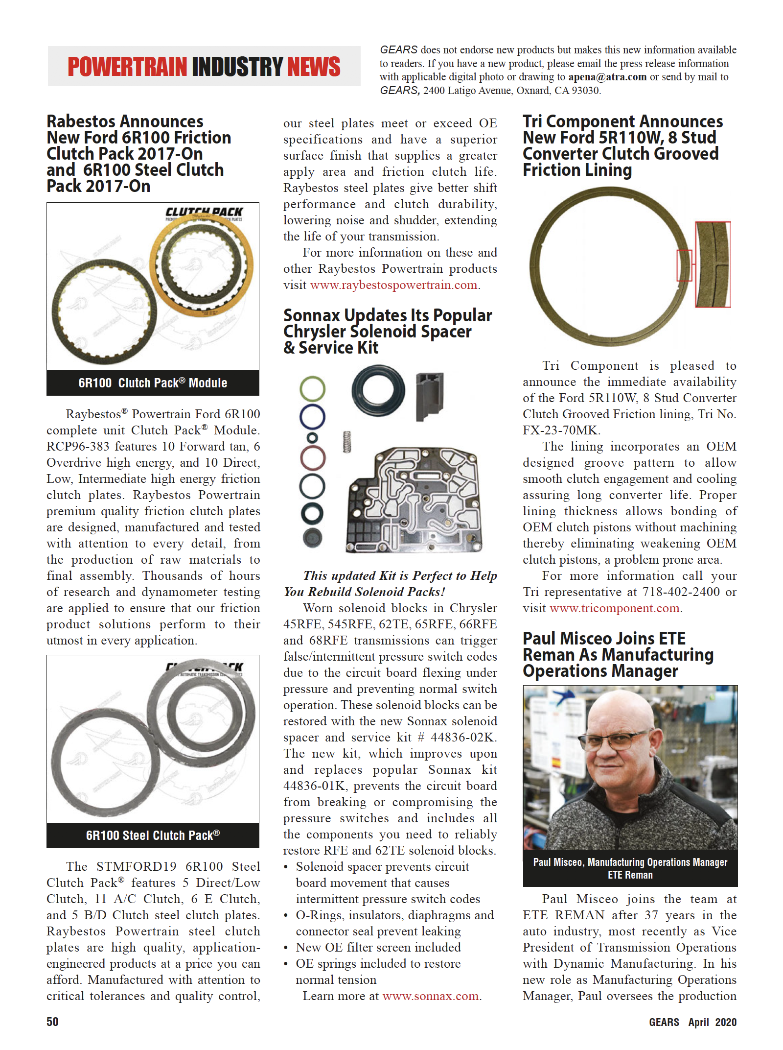 powertrain industry news page 1